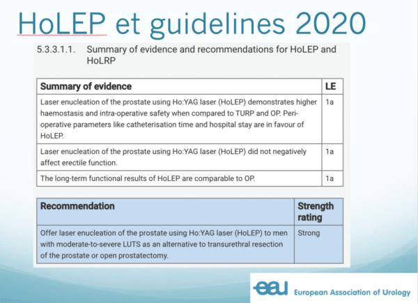 holep et guidelines 2020
